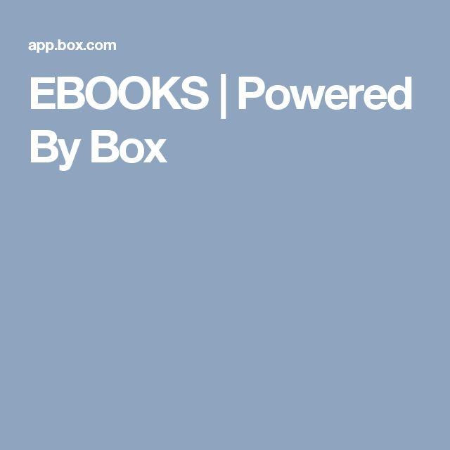 EBOOKS   Powered By Box