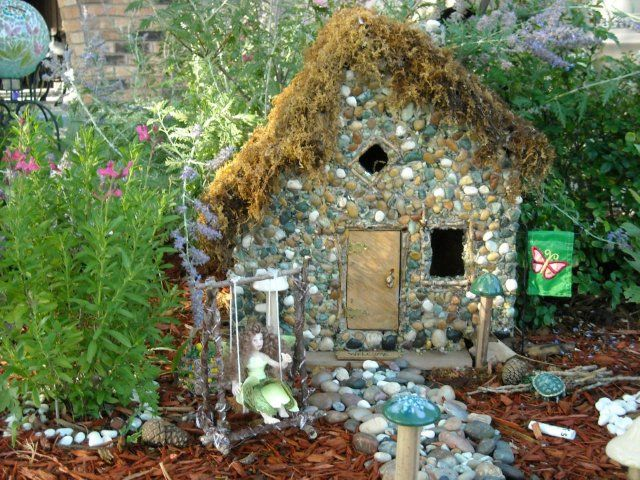 464 Best Images About Fairies' Gardens On Pinterest