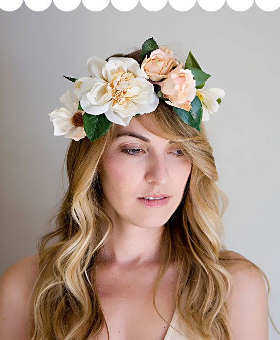 Flower Crown on Etsy