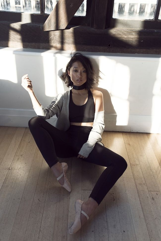 Here's Margaret Zhang of Shine By Three in Witchery Balance's new activewear campaign.