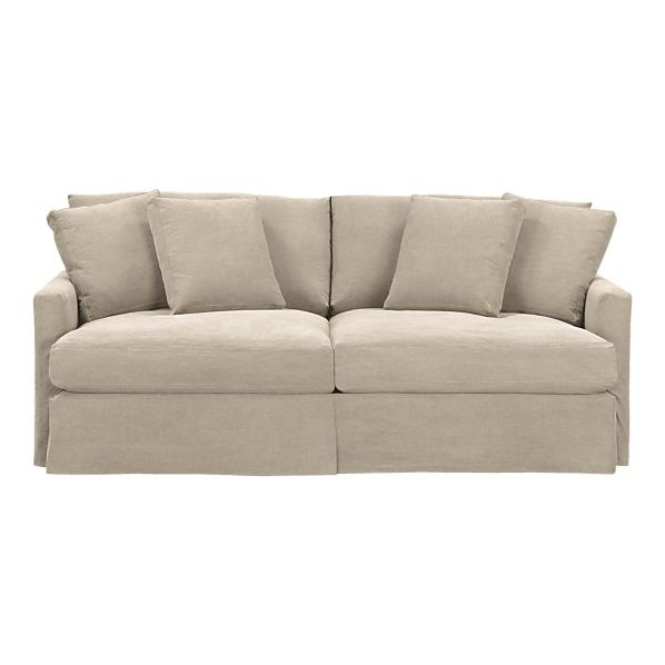 Slipcover For Lounge Sofa From Crate U0026 Barrel