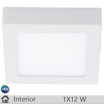 Plafoniera LED iluminat decorativ interior Eglo, gama Fueva, model 94074