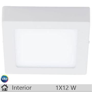 Plafoniera LED iluminat decorativ interior Eglo, gama Fueva, model 94074