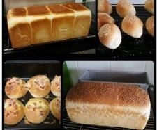 Recipe JUMBO 900G WHITE BREAD LOAF / ROLLS by lailahrosebowie1993 - Recipe of category Breads & rolls
