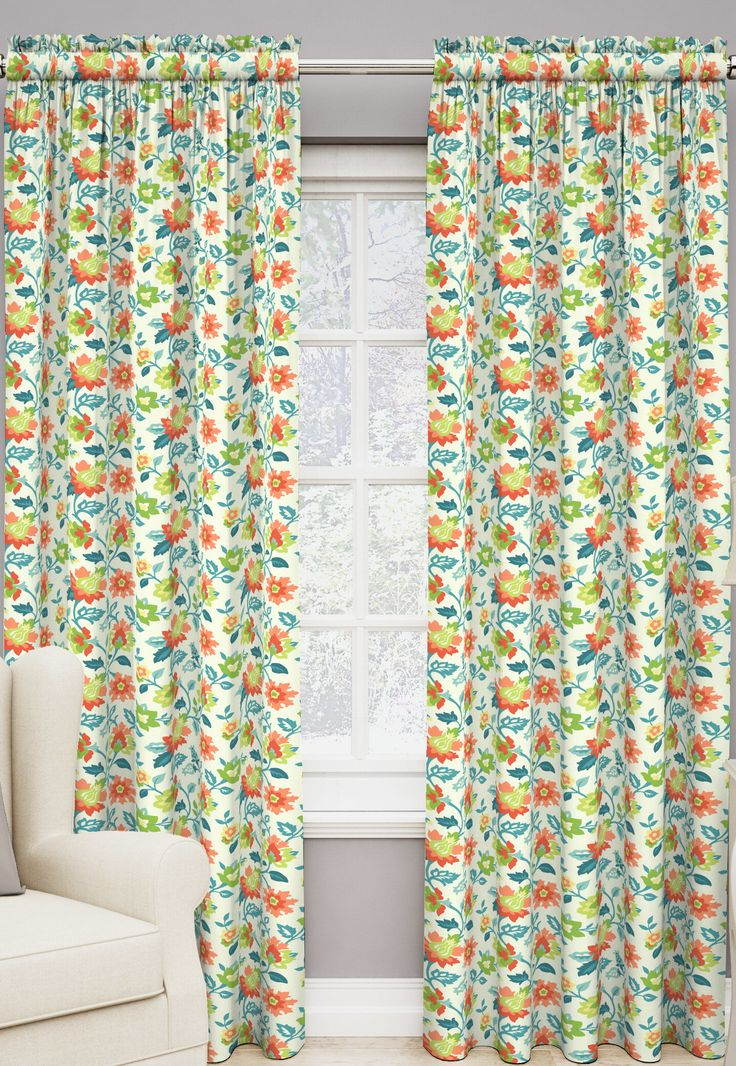 Set in Spring Curtain Single Panel
