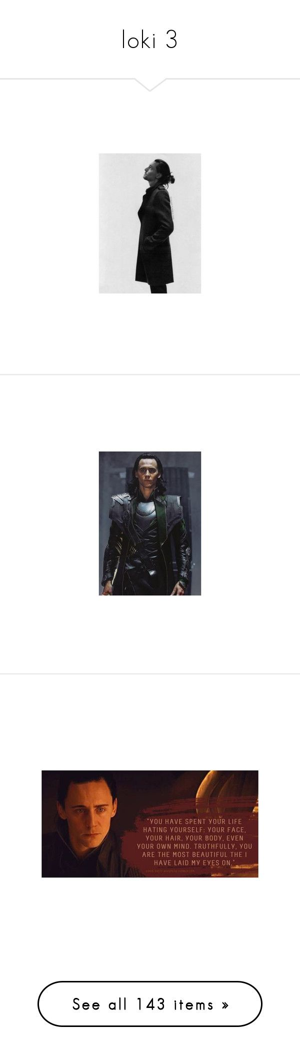 """""""loki 3"""" by eloise-monique-dufour ❤ liked on Polyvore featuring loki, people, men, tom hiddleston, marvel, avengers, marvel/dc, accessories, hiddleston and tom"""