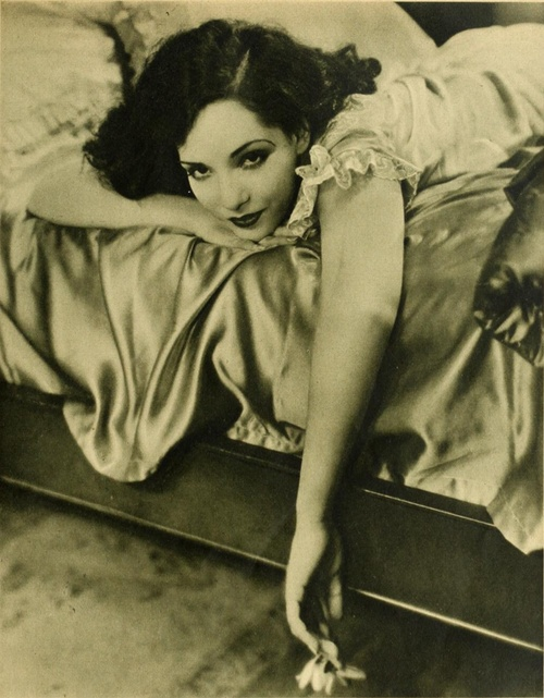 Lupe Velez in Photoplay magazine, 1928  Poor Lupe made famous years after her suicide on the TV show Frasier.