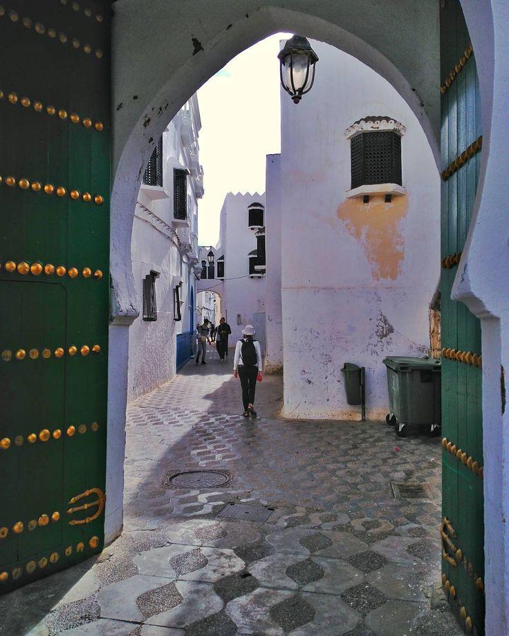 Rincón de la Medina de Asilah cerca de Tánger #morocco