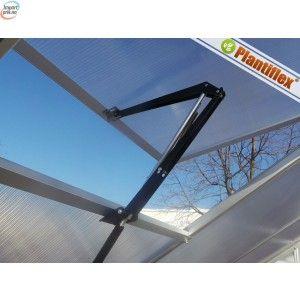 Automatisk vindusåpner til drivhus