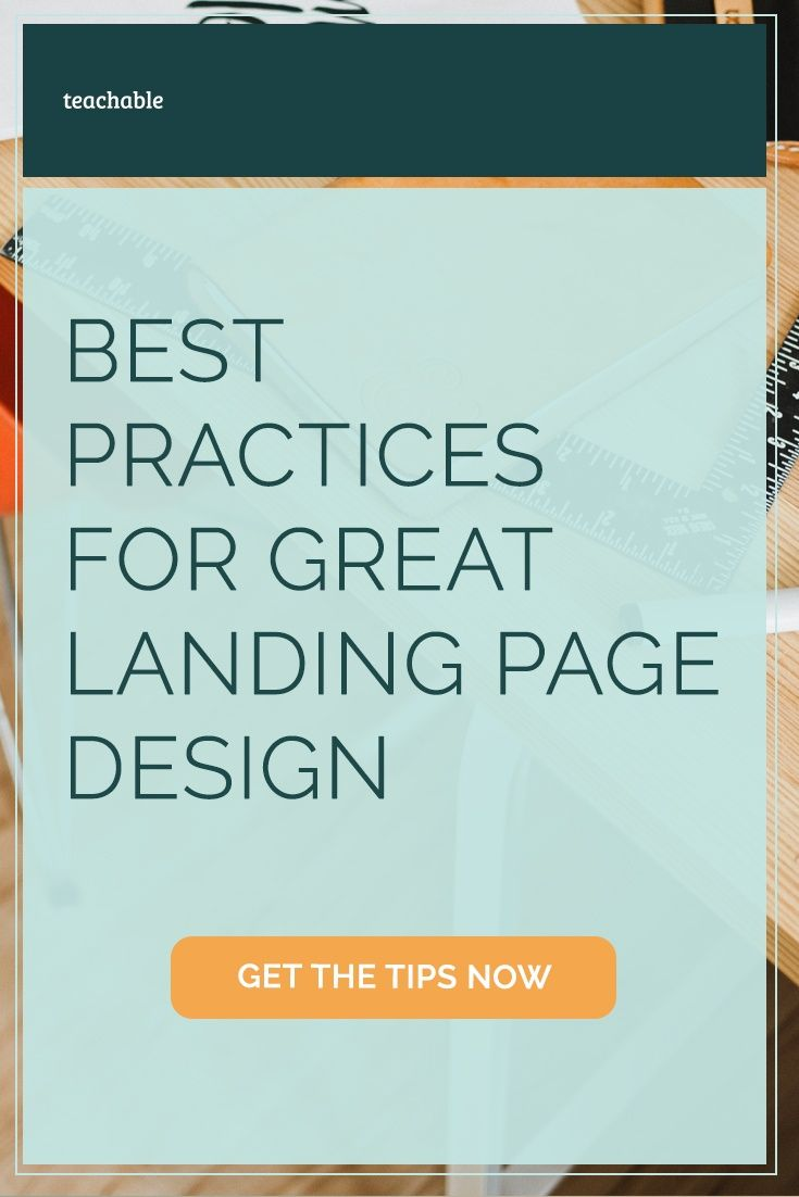 One of the easiest ways to increase conversions is with a great landing page. Discover the best practices in landing page design in this detailed guide and SlideShare.