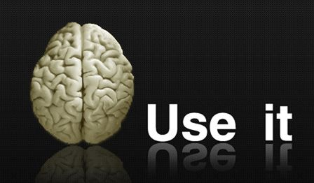 Use it. Don't waste it. What a brain looks  like without drugs or booze.