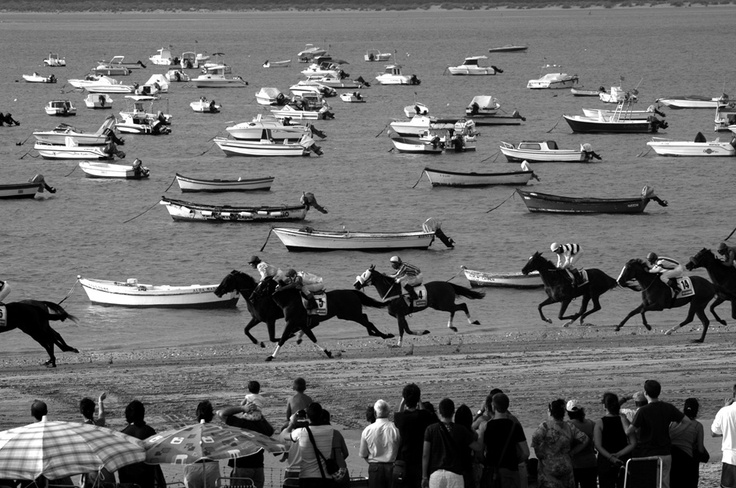 "Horse race in Sanlúcar de Barrameda, Cádiz, Spain by Marta Gispert ""maktub"""