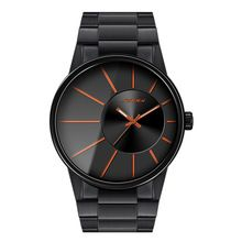 SINOBI New Fashion Men Wrist Watches Black Watchband Top Luxury Brand Male Golden Geneva Quartz Clock Gents Montres Hommes 2016(China (Mainland))