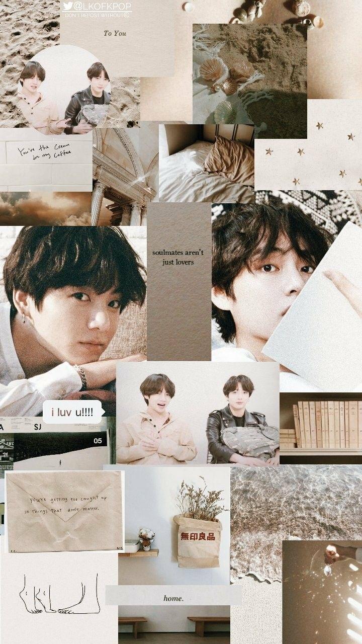 Taekook Aesthetic Wallpaper Credits To Twitter Lkofkpop C Jungkook Taehyung Taekook Pemandangan Khayalan Fotografi Abstrak Kolase Foto