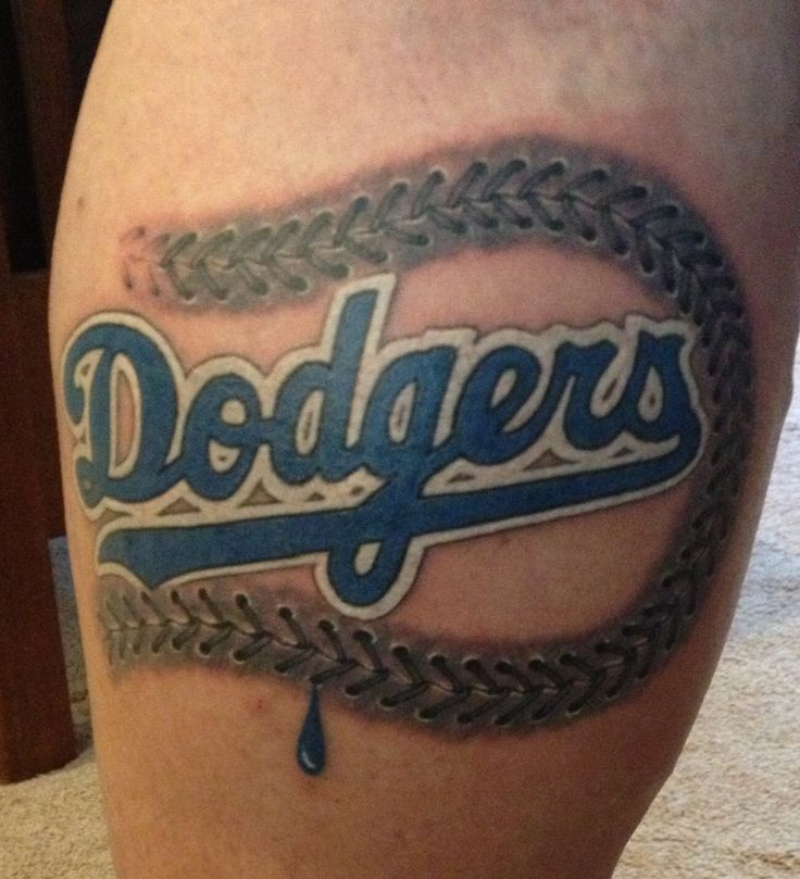 1000 images about los angeles dodgers tattoo on pinterest names fan tattoo and blue. Black Bedroom Furniture Sets. Home Design Ideas