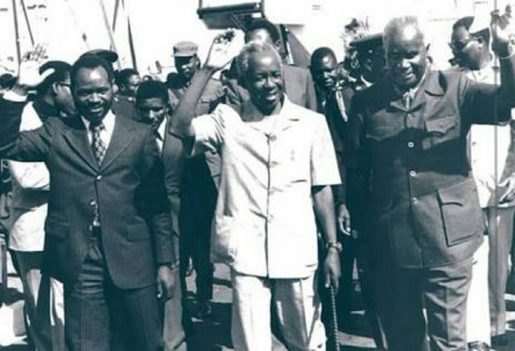 Samora Machel, Julius Nyerere & Kenneth Kaunda