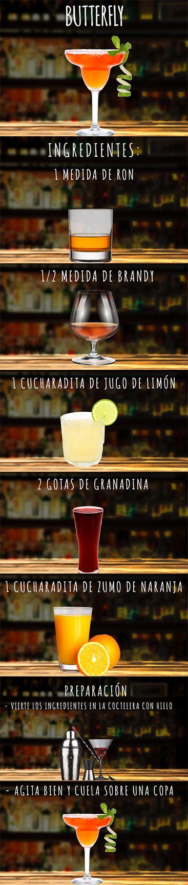 Dale RT si tu plan de fin de semana será este delicioso  Butterfly #DateElGusto #bebidas #cocteles #recetas #hazlotúmismo