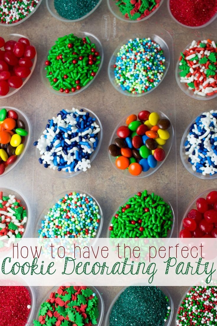 Encourage giving, sharing, and enjoying Christmas together by hosting a cookie decorating party! Whether you're the room mom in need of the perfect holiday party idea, or you just want your kids to stop arguing over the best sprinkles, I have some tips for making sure everyone can get in on the cookie decorating fun! #ShareTheHoliday [ad]