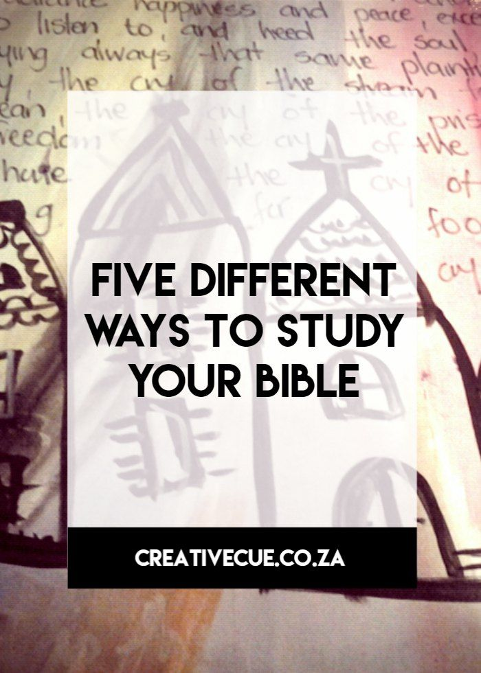 Five ways to study your Bible through scripture reading scripture journaling and scripture writing