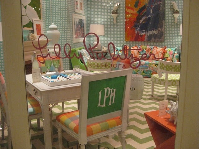 Lilly Pulitzer Furniture And Fabric