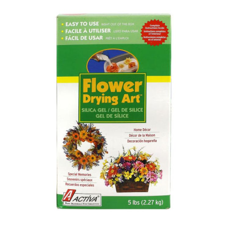 Activa Flower Drying Art Silica Gel Preserve Home And