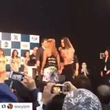 Gabi Garcia vs Lei'd Tapa Weigh-ins at Rizin