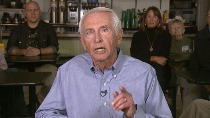 Steve Beshear delivered the Democratic response to Trump's speech.