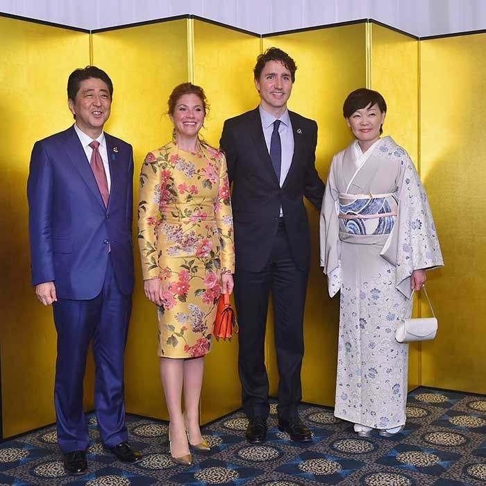 The best photos from the Trudeaus' visit to Japan - HELLO! CA