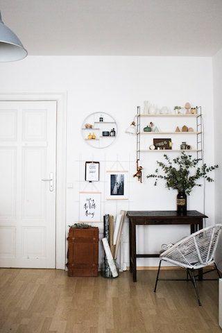 Die besten 25+ Wandregal schwarz Ideen auf Pinterest Schwarze - esszimmer gestaltung 107 ideen