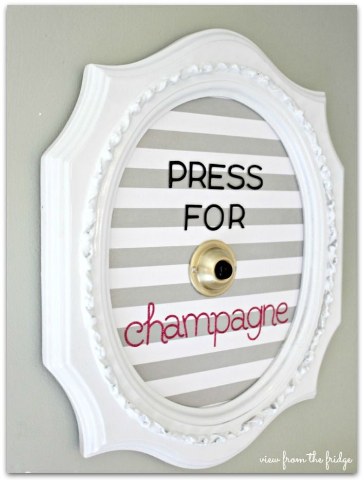 Press for Champagne - I am SO making this!  Can't wait for my champagne delivery!!  Hope it comes with a cute delivery boy!