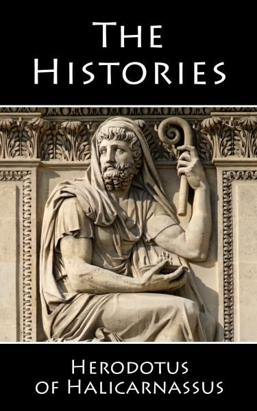 The Histories by Herodotus. In Book II of The Histories, Herodotus the first to write history in a prose narrative form, creating a new genre of literature, gives a history of Ancient Egypt, including the construction of the Pyramids, but here's the thing, Herodotus lived between 484-425 BC. As pointed out already The Great Pyramid was completed in 2540 BC. That's 2100 years before Herodotus wrote The Histories. That's longer than from when Jesus was born to now. Just to keep it in…