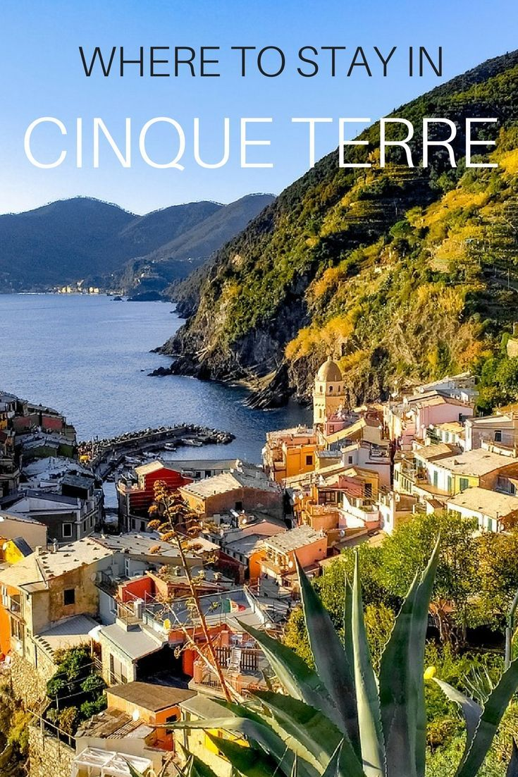 where to stay in cinque terre, italy: the best hotels and