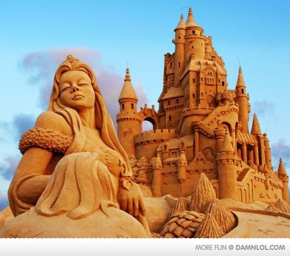 Best Sand Art Images On Pinterest Snow Sculptures Ice Art - This towering sand sculpture just broke the world record for the tallest ever sandcastle