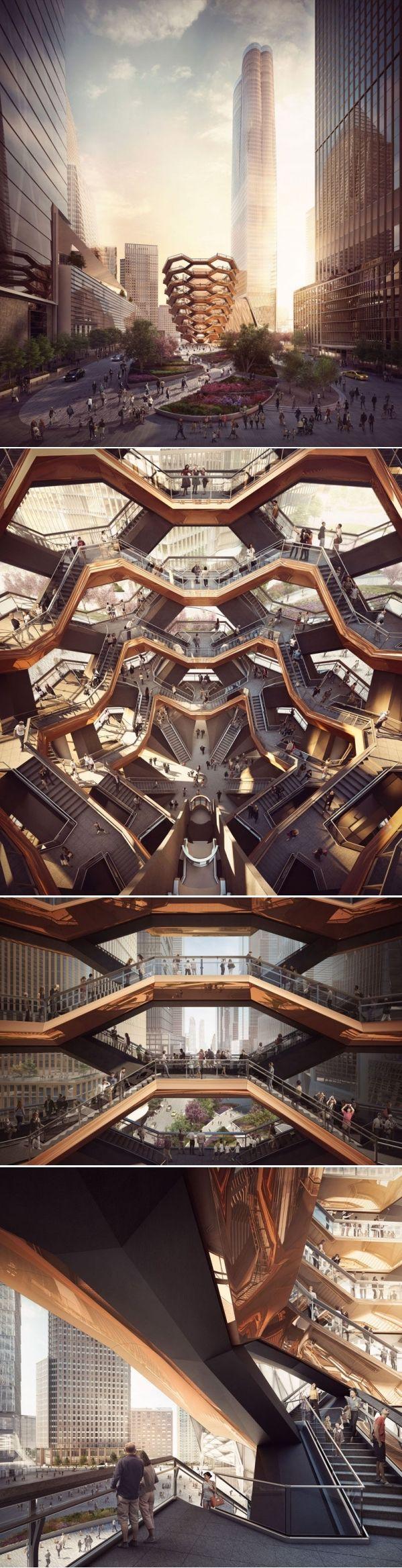 Vessel Will Be A New Public Landmark In Manhattan in 2018 | CONTEMPORIST