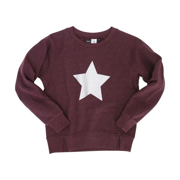Molo Madge Prune Star Sweatshirt