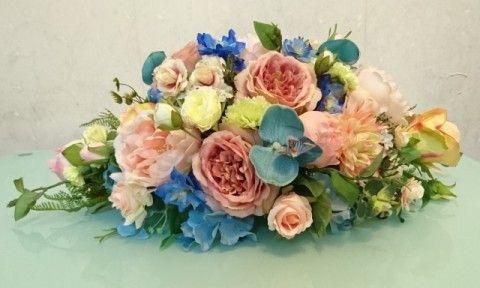 Peach X Sky Blue 結婚車花佈置 - BLOG - ElaineWai - ESDlife WOW
