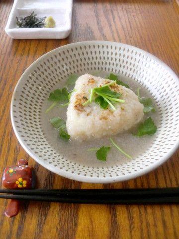 鯛めしの焼きおにぎり~蓮根だし茶漬け~ by ゆりりんさん | レシピ ...