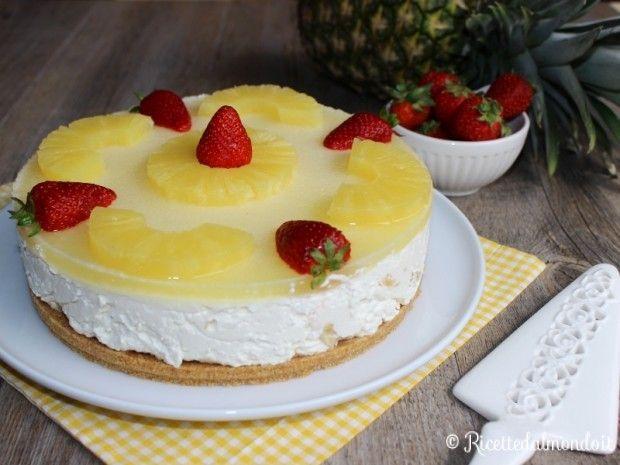 Cheesecake all'Ananas