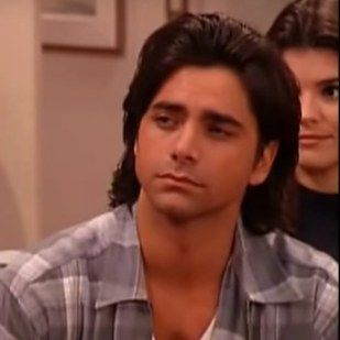 """John Stamos as Uncle Jesse in his first and last episodes… 