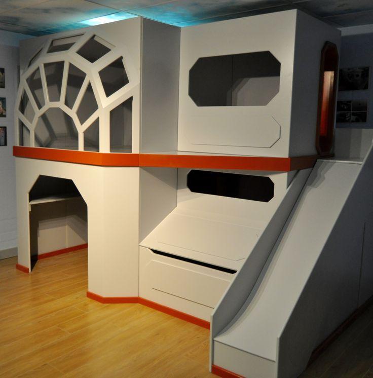 Star wars children's bedroom bunk bed idea