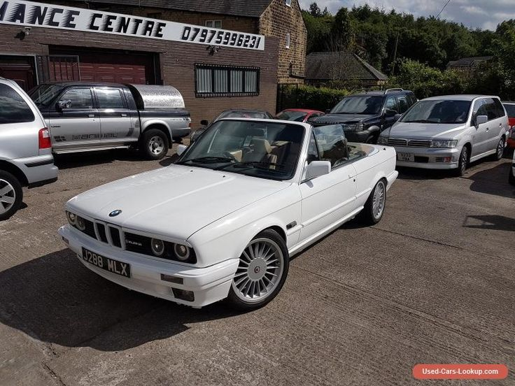 BMW 3 series (E30) convertible for sale now #bmw #3seriese30 #forsale #unitedkingdom