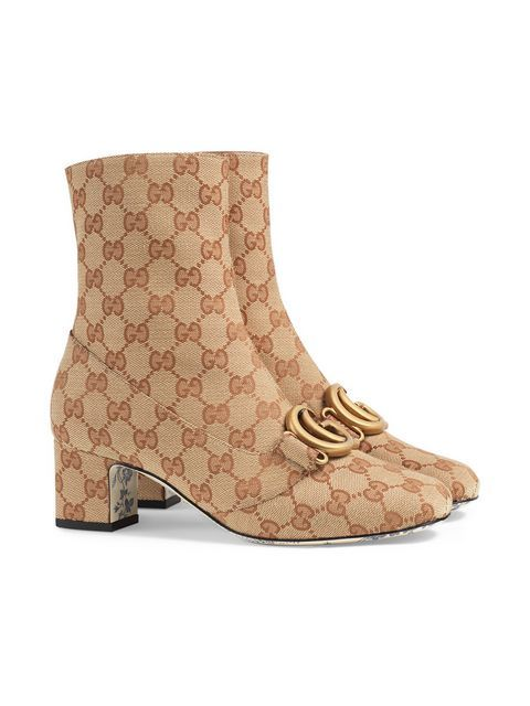 90b7c3788e Gucci GG Ankle Boot With Double G - Farfetch Gucci Baby, Shoes Heels Boots,