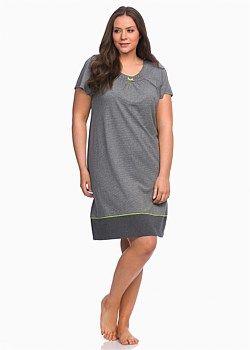 Timeless Stripe Nightie #takingshape #curvy #plussize #sleepwear