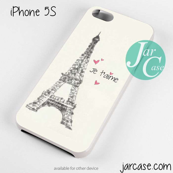 PARIS JE TAIME Phone case for iPhone 4/4s/5/5c/5s/6/6 plus