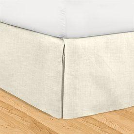 Veratex Huys Pearl California King 16-In Bed Skirt 601774