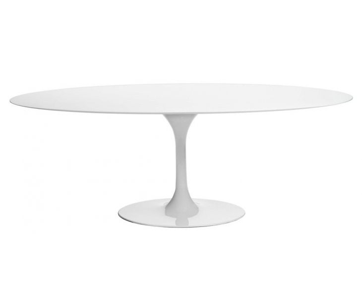 Saarinen Oval Tulip Table - Lacquer - Various Sizes | roveconcepts.com