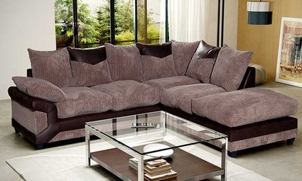 Sink into these cosy sofas featuring soft seating and back cushions and textured jumbo cord fabrics