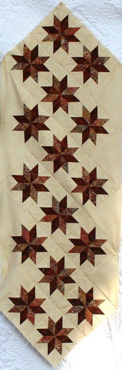 Dining With the Stars~Quiltworx.com  Made by Catherine Wilson