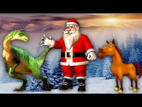 Dinosaurs Movies For Children Merry Christmas Santa Claus Song Elephant Video For Kids Horse Dance - (More info on: http://LIFEWAYSVILLAGE.COM/movie/dinosaurs-movies-for-children-merry-christmas-santa-claus-song-elephant-video-for-kids-horse-dance/)