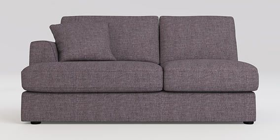 Buy Stratus III Modular Left Hand Double Seat- Modular Cosy Boucle Grape Glide from the Next UK online shop